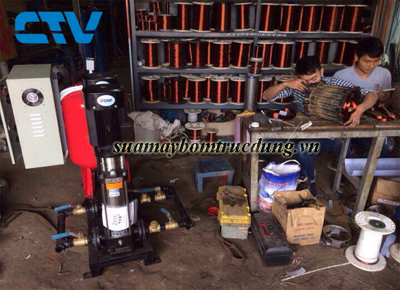 Sửa máy bơm trục đứng CNP
