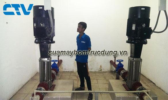 Sửa máy bơm trục đứng Ebara tại Hà Nội