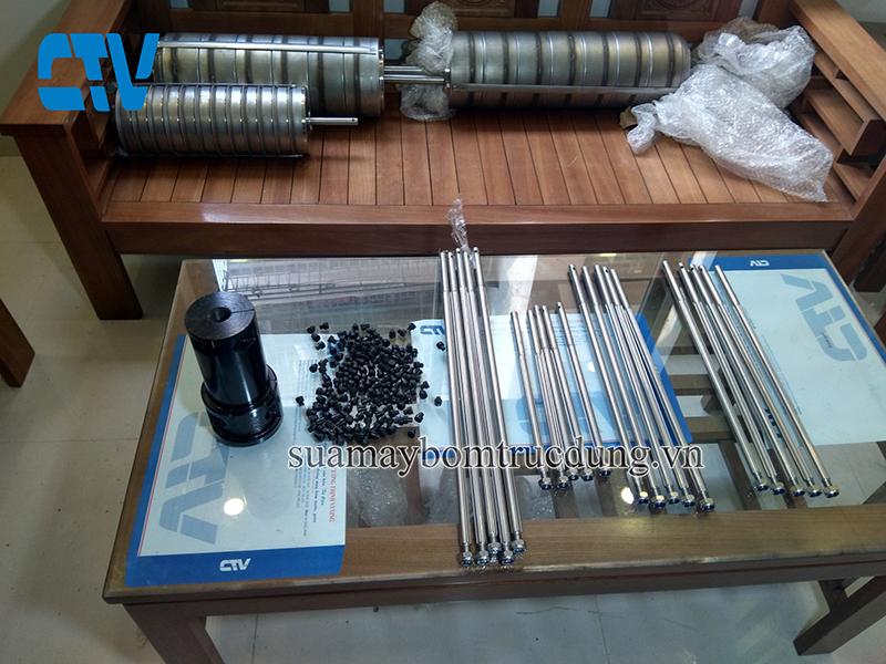 Phụ kiện máy bơm trục đứng shimge chính hãng trên toàn quốc