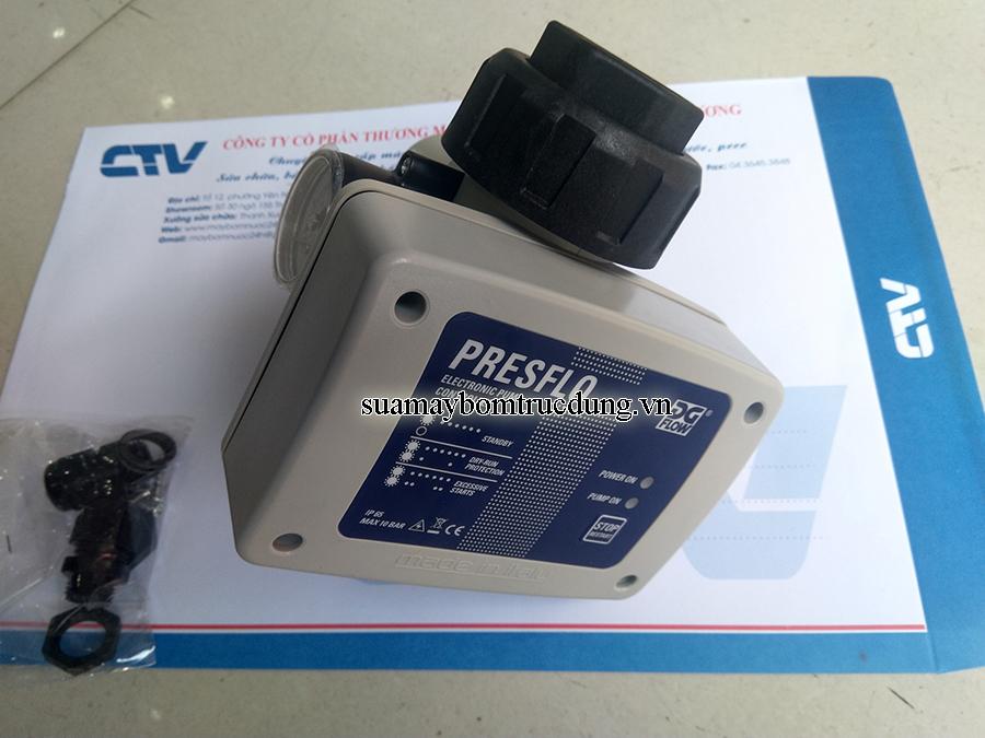 Bộ điều khiển và bảo vệ máy bơm tăng áp bằng mạch điện tử Presflo