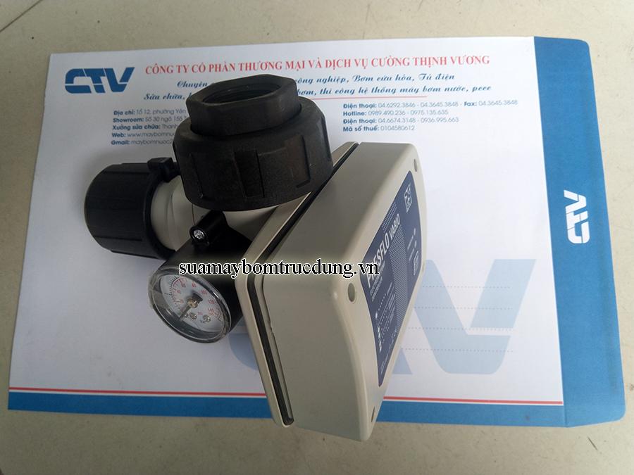 Bộ điều khiển và bảo vệ máy bơm tăng áp bằng mạch điện tử Presflo Vario